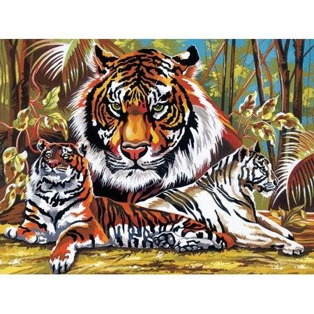 """<br><br><strong>Reeves</strong> Paint By Numbers Large Tigers Painting, $, available at <a href=""""https://www.walmart.com/ip/Reeves-Paint-By-Numbers-Large-Tigers-Painting/23907273"""" rel=""""nofollow noopener"""" target=""""_blank"""" data-ylk=""""slk:Walmart"""" class=""""link rapid-noclick-resp"""">Walmart</a>"""