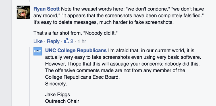 NC Trans Student Says College GOP Threatened Her, Called Her a