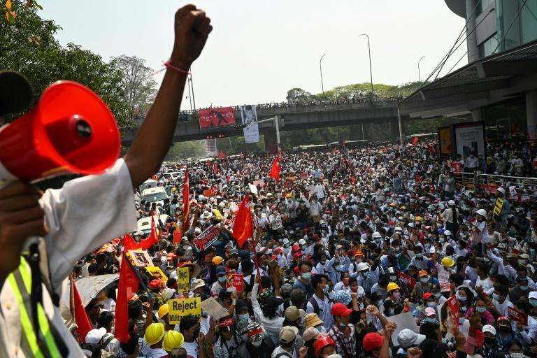 There have been massive street demonstrations since Myanmar's military staged a coup and detained civilian leader Aung San Suu Kyi