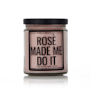 """<p><strong>Posh Candle Co.</strong></p><p>poshcandleco.com</p><p><strong>$15.00</strong></p><p><a href=""""https://poshcandleco.com/products/rose-made-me-do-it"""" rel=""""nofollow noopener"""" target=""""_blank"""" data-ylk=""""slk:Shop Now"""" class=""""link rapid-noclick-resp"""">Shop Now</a></p><p>Have rosé in your cup and in your candle too, eh?! </p>"""