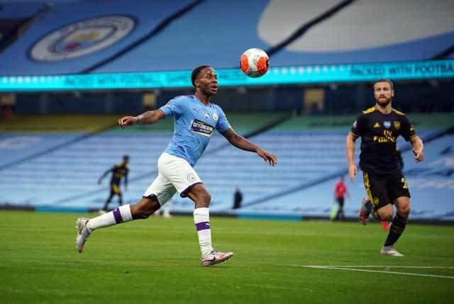 Raheem Sterling has spoken out about the lack of black representation in leadership roles (Dave Thompson/NMC Pool/PA)