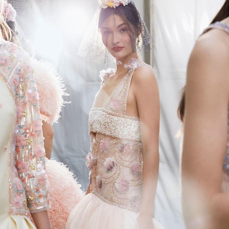 123,670 Embellishments and Nearly 1,000 Hours of Work: The Jaw-Dropping Details of Chanel's Iridescent Couture Gown