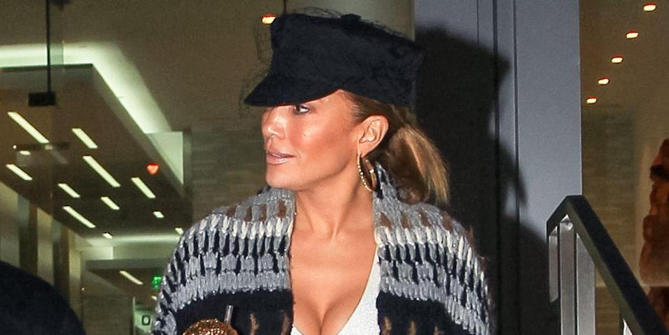 Jennifer Lopez Steps Out With A Must-Have Super Sparkly Cup