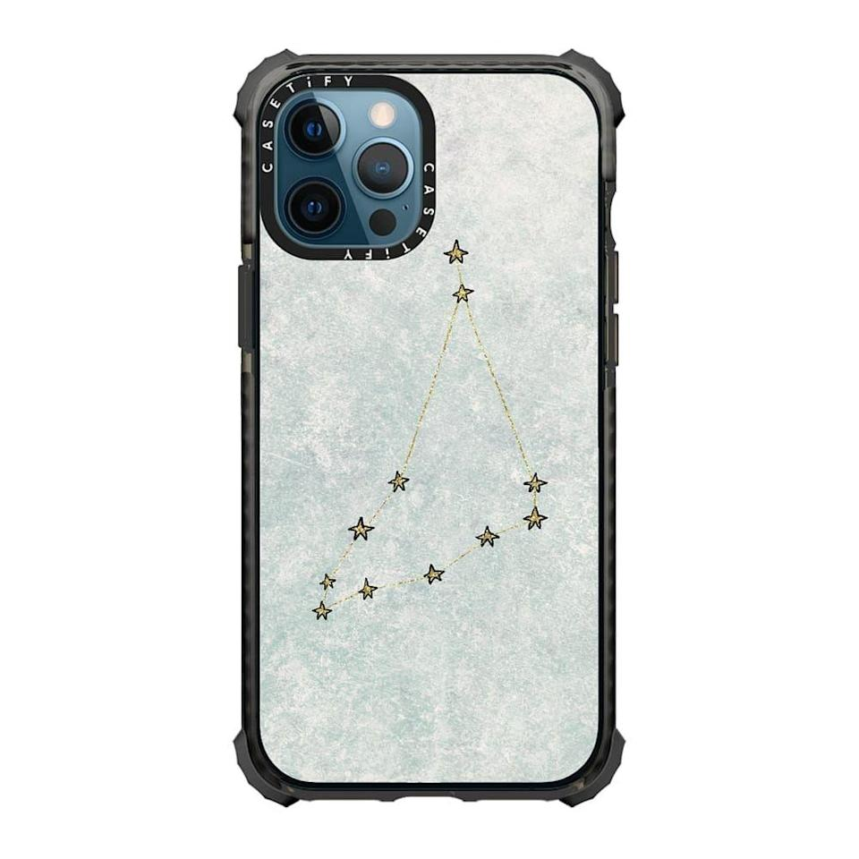 """<p>casetify.com</p><p><strong>$64.00</strong></p><p><a href=""""https://go.redirectingat.com?id=74968X1596630&url=https%3A%2F%2Fwww.casetify.com%2Fproduct%2FXKlFw_capricorn-x-astrology-x-zodiac%2Fiphone12-pro-max%2Fultra-impact-case%23%2F16001667&sref=https%3A%2F%2Fwww.cosmopolitan.com%2Fstyle-beauty%2Ffashion%2Fg34045448%2Fcapricorn-gift-guide%2F"""" rel=""""nofollow noopener"""" target=""""_blank"""" data-ylk=""""slk:Shop Now"""" class=""""link rapid-noclick-resp"""">Shop Now</a></p><p>Protect your Cap's phone!!! </p>"""