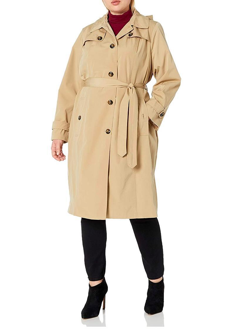 """You can't go wrong with a classic trench coat, and this rain-proof style has a detachable hood for unpredictable showers. $34, Amazon. <a href=""""https://www.amazon.com/London-Fog-Womens-Single-Breasted/dp/B07R4XYB6J/"""" rel=""""nofollow noopener"""" target=""""_blank"""" data-ylk=""""slk:Get it now!"""" class=""""link rapid-noclick-resp"""">Get it now!</a>"""