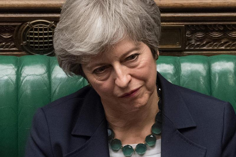 Theresa May is set to ask MPs to vote on her deal for a third time next week (AFP/Getty Images)