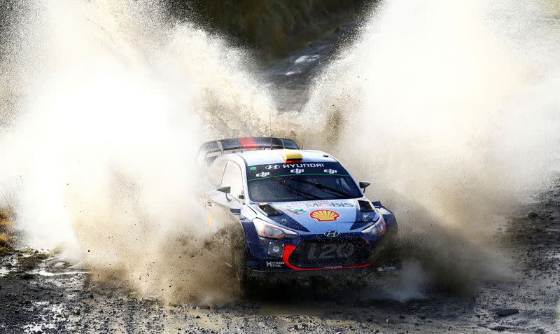 WRC cancels Rally Germany, moves Italy race to avoid F1 clash
