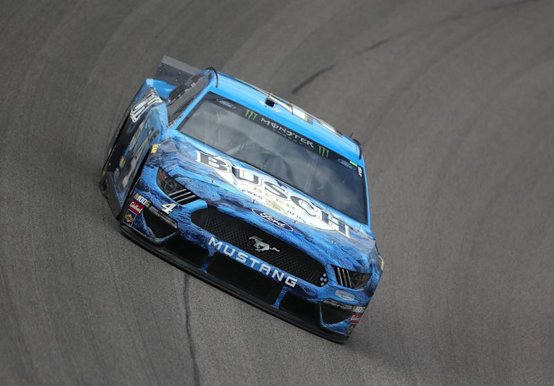NASCAR at Kansas: Clint Bowyer frustrated by blocking in overtime shootout