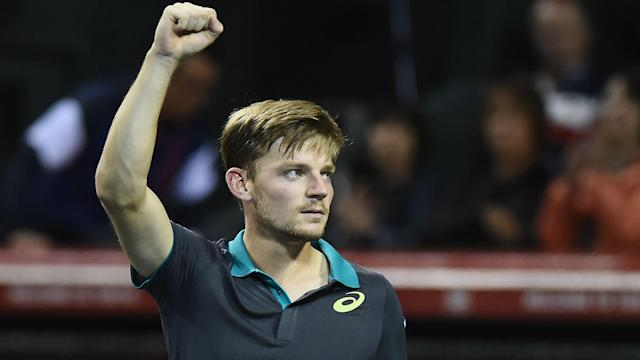 Another win for David Goffin enhanced his ATP Finals hopes. The Belgian will face Adrian Mannarino for the Tokyo title on Sunday.