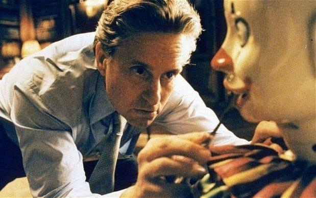 A clue? Michael Douglas in The Game