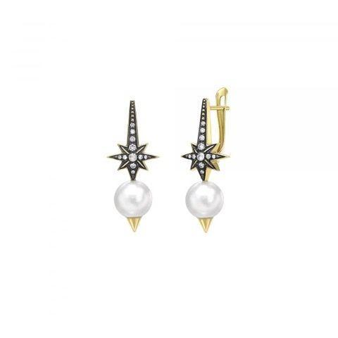 """<p><a class=""""link rapid-noclick-resp"""" href=""""https://venyxworld.com/jewellery/oseanyx-star-pearl-earrings/"""" rel=""""nofollow noopener"""" target=""""_blank"""" data-ylk=""""slk:SHOP NOW"""">SHOP NOW</a></p><p>With stars representing the outer reaches of space and a pair of pearls to invoke the depths of the ocean, these earrings allow you to take the universe with you, wherever you go. </p><p>Pearl, diamond, white sapphire and gold earrings, £3,100, Venyx</p>"""
