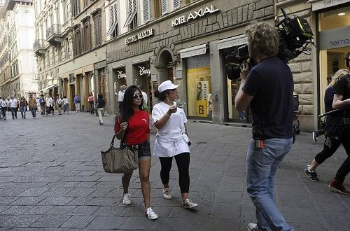 The Jersey Shore cast have been filming in Italy