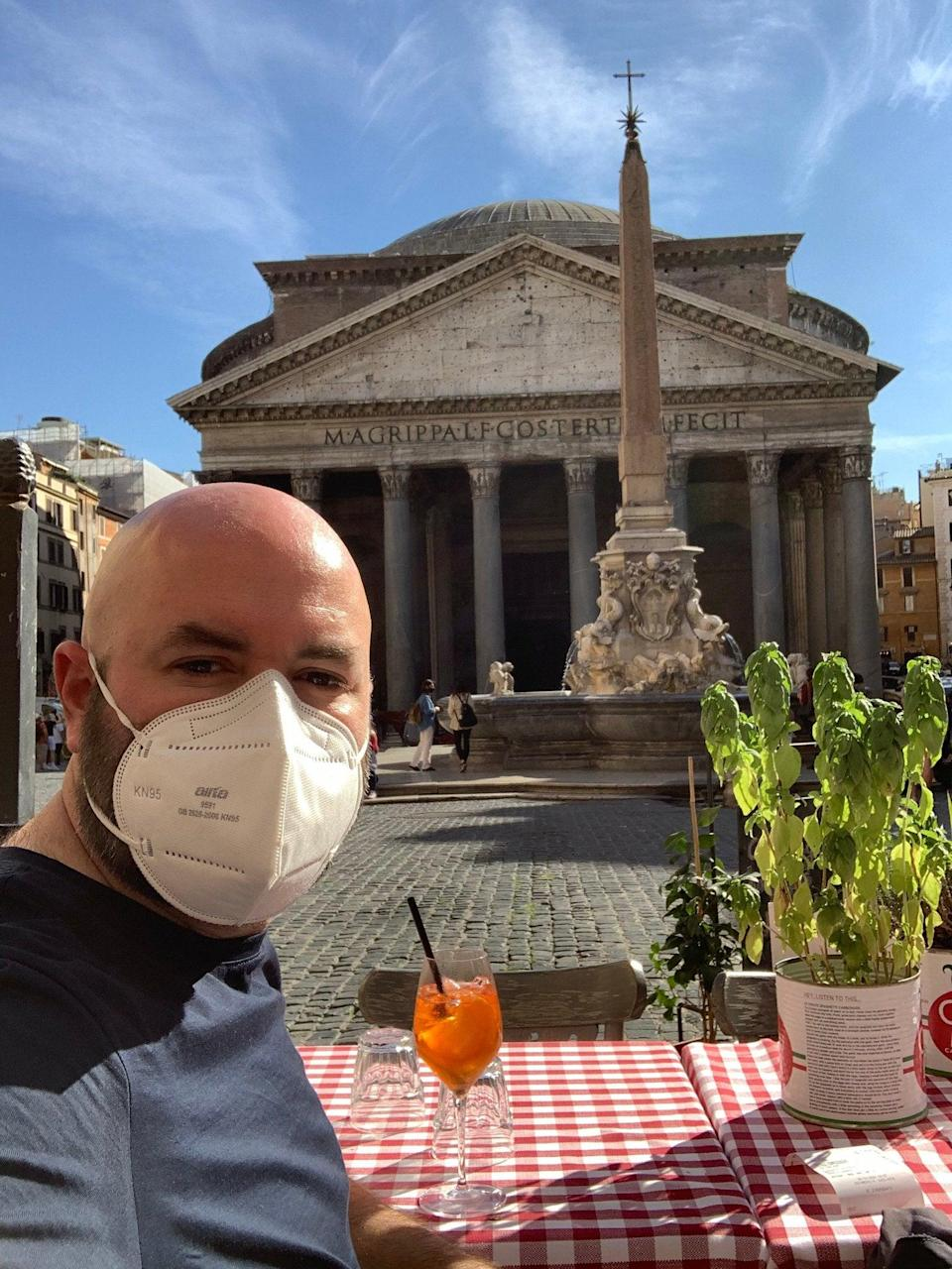 Peter White in Rome (Peter White)