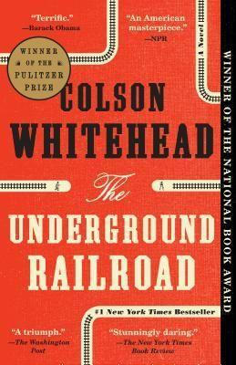 "<p><strong>Colson Whitehead</strong></p><p>bookshop.org</p><p><strong>$15.59</strong></p><p><a href=""https://bookshop.org/books/the-underground-railroad-9780385542364/9780345804327"" rel=""nofollow noopener"" target=""_blank"" data-ylk=""slk:Shop Now"" class=""link rapid-noclick-resp"">Shop Now</a></p><p>In Whitehead's imagining, the underground railroad is more literal than it was in real life, but the struggles of its characters as they flee slavery are all too real. This brilliant book gives faces and names to the journey toward freedom, and the unrealized promise that holds. </p>"