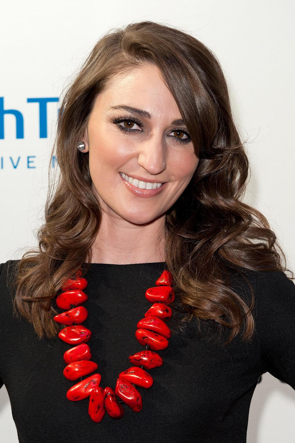 "<b>Sara Bareilles:</b> ""‏I am so overwhelmed by the horrific events in Colorado. So sad for the victims and their families. Sending love and prayers. #aurora "" (Photo by D Dipasupil/Getty Images)"