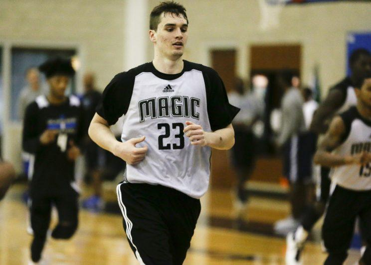 Building the foundation of a long season starts before the first practice, especially for young players such as Mario Hezonja. (AP)