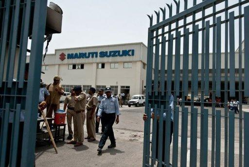 Japan has condemned violence at a Maruti Suzuki car plant near New Delhi that claimed the life of an executive