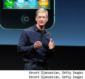 Apple CEO Tim Cook highest paid salary