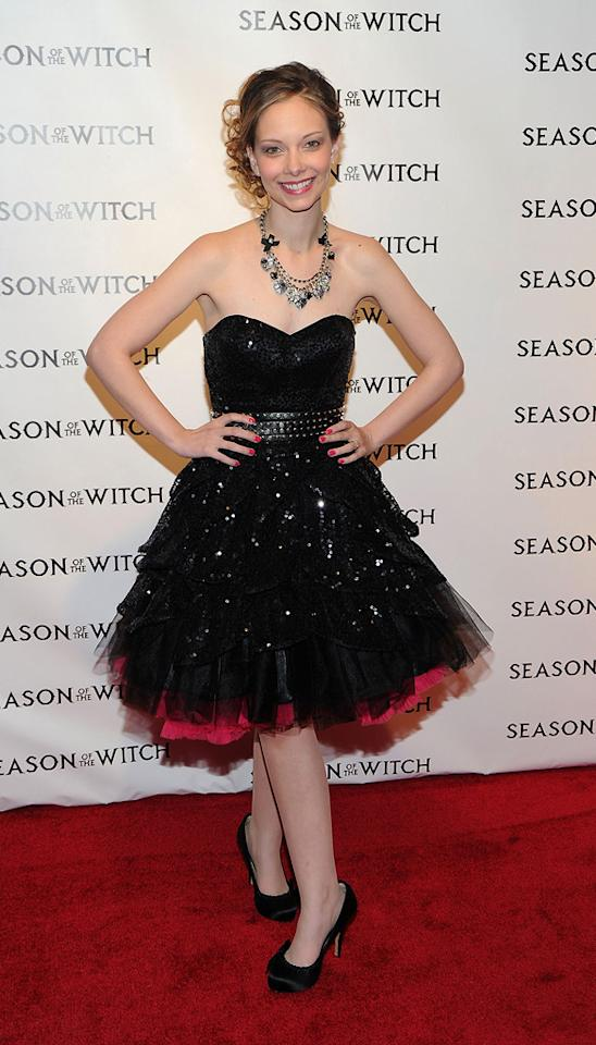 "<a href=""http://movies.yahoo.com/movie/contributor/1810193315"">Rebekah Kennedy</a> at the New York City premiere of <a href=""http://movies.yahoo.com/movie/1810055815/info"">Season of the Witch</a> on January 4, 2010."