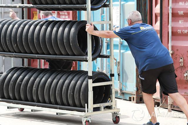 """Michelin tyres <span class=""""copyright"""">Gold and Goose / Motorsport Images</span>"""