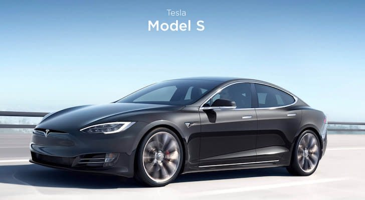 10 Best Electric Cars Tesla Model S