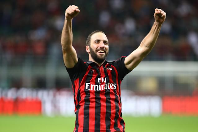 Gonzalo Higuian's move to AC Milan has seen him become Serie A's second highest earner