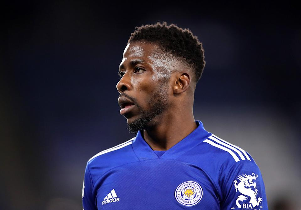 Leicester striker Kelechi Iheanacho (Getty Images)