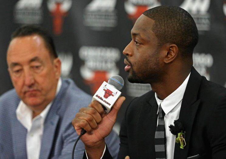 Dwyane Wade is looking at a fresh start. (Getty)