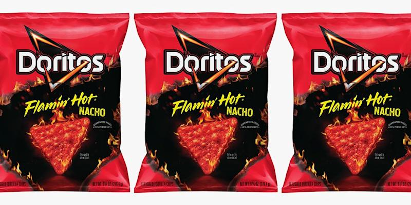 The New Flamin Hot Nacho Doritos Might Set Your Mouth On Fire