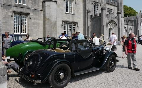 Leighton Hall classic car show