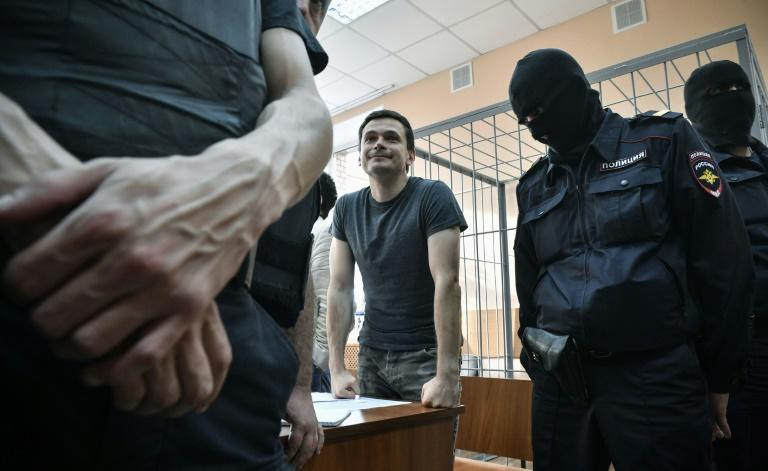 Russian opposition member Ilya Yashin was sentenced to a second period of 10 days in jail for demonstrating without unauthorisation