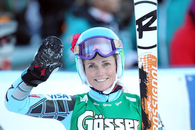<p>Sarah Schleper (Glenwood Springs, CO), Mexico, Alpine skiing </p>