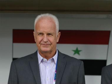 AFC Asian Cup 2019: Syria sack German coach Bernd Stange after team's defeat to Jordan in Group B