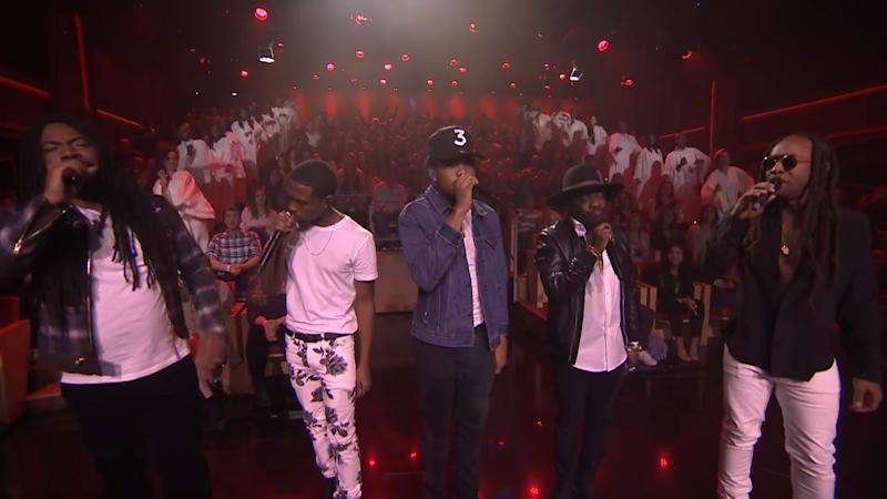 Chance The Rapper Performs