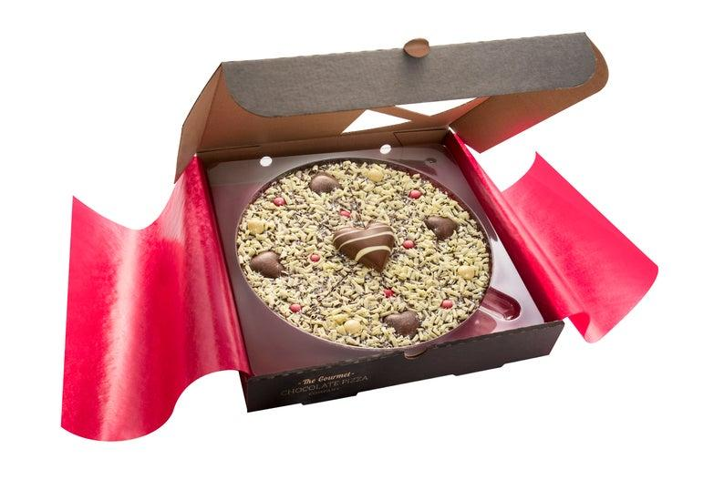 Valentine's Chocolate Pizza. Image via Etsy.