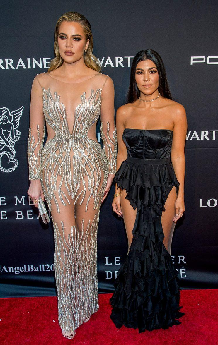 Khloé and Kourtney Kardashian