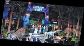 "Universal Studios Hollywood opens ""Jurassic World—The Ride"""