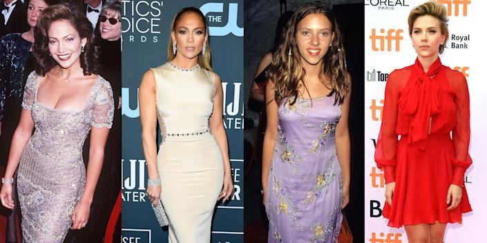 <p>With great fame comes a seriously upgraded look. That's why we see the style of most celebrities improve after a few years in the spotlight. Unfortunately for them, they don't always have the luxury of hiding away the evidence of the '90s trends they probably wish they never wore. Ahead, take a look back at how fashion has changed over the years for celebs from Jennifer Lopez to Britney Spears.</p>