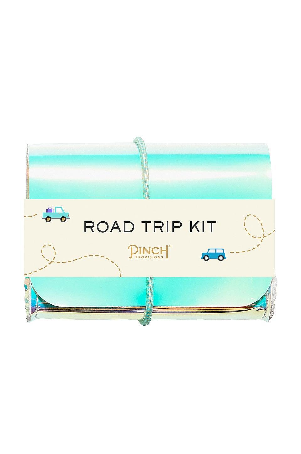 "<h2>Road Trip Kit</h2>We love anything that comes with a bunch of miniature necessities, which is why our bathrooms are full of tiny hotel soaps. This kit has everything you need on the road, including personal hand wipes, lens cleaners, and bandaids.<br><br><br><strong>Pinch Provisions</strong> Road Trip Kit, $, available at <a href=""https://go.skimresources.com/?id=30283X879131&url=https%3A%2F%2Fwww.revolve.com%2Fpinch-provisions-road-trip-kit%2Fdp%2FPPRO-WU38%2F"" rel=""nofollow noopener"" target=""_blank"" data-ylk=""slk:Revolve"" class=""link rapid-noclick-resp"">Revolve</a>"