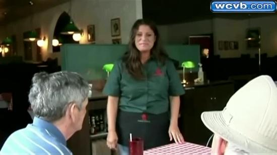 Waitress gets huge tip from loyal patrons