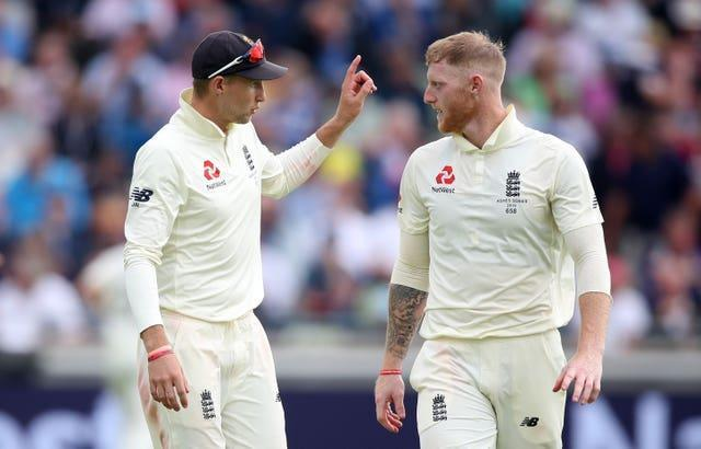 Ben Stokes, right, has hailed the influence of Joe Root, left, on his mindset (Nick Potts/PA)