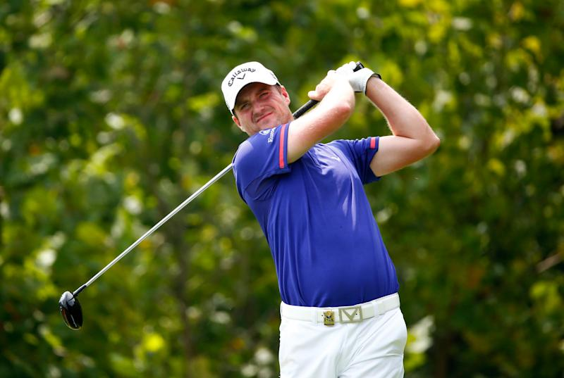 Golf - Storm force Warren joins Dredge in Denmark Open lead