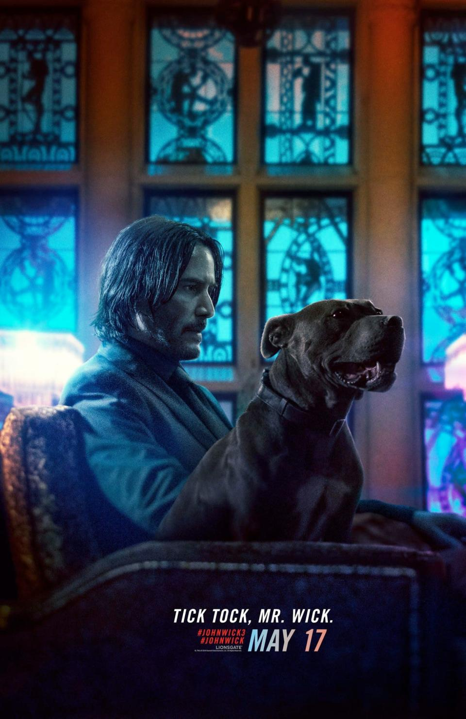 <p>John chills with his doggo mate, who we're absolutely sure will be totally fine for the entirety of this movie. They… they wouldn't kill another good boy in this franchise, would they? </p>