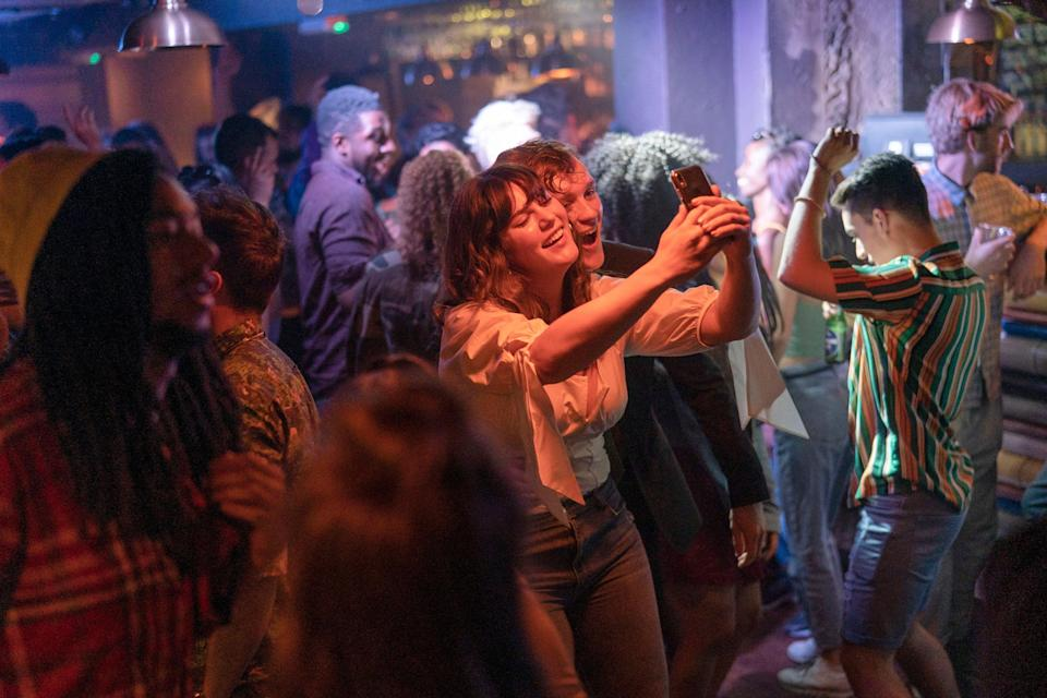 <p>Banging and banking is the order of the day in Industry</p> (BBC/Bad Wolf Productions)