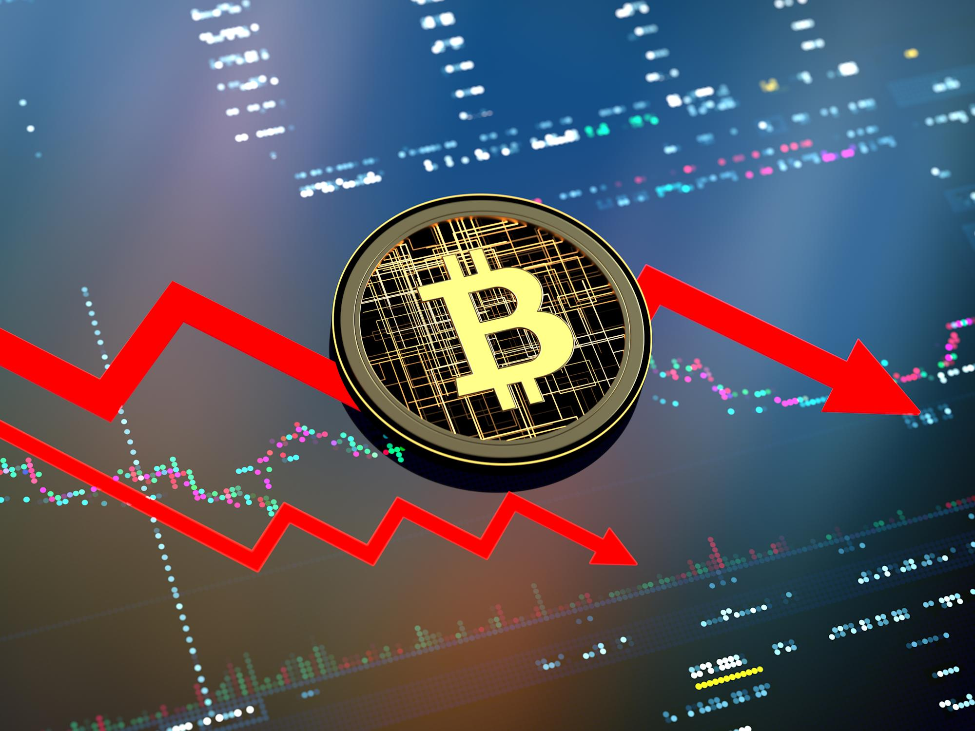 Bitcoin to tumble further: oddsmakers bet on drop to $10K