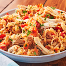 """<p>If there's one thing we find magical about Instant Pots, it's how quickly and perfectly they cook chicken and rice. The rice is the perfect texture and the chicken is insanely tender. This is the meal we cook in the Instant Pot the most often. </p><p>Get the <a href=""""https://www.delish.com/uk/cooking/recipes/a30165483/instant-pot-chicken-and-rice-recipe/"""" rel=""""nofollow noopener"""" target=""""_blank"""" data-ylk=""""slk:Instant Pot Chicken & Rice"""" class=""""link rapid-noclick-resp"""">Instant Pot Chicken & Rice</a> recipe.</p>"""