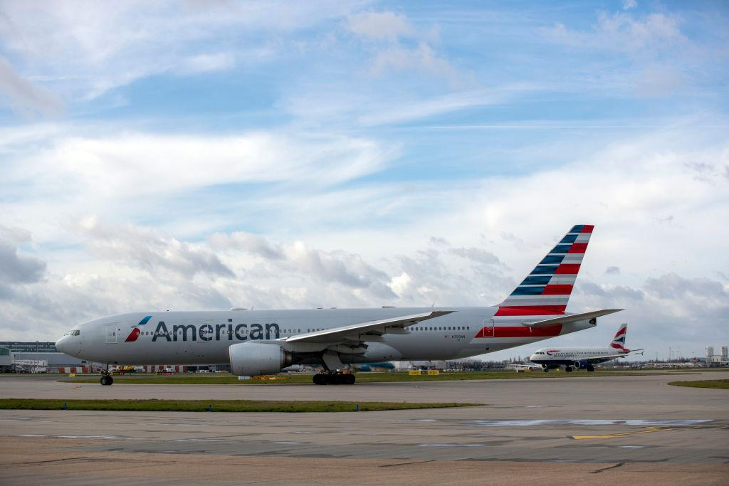 The woman was travelling on an American Airlines flight to Miami [Photo: Getty]