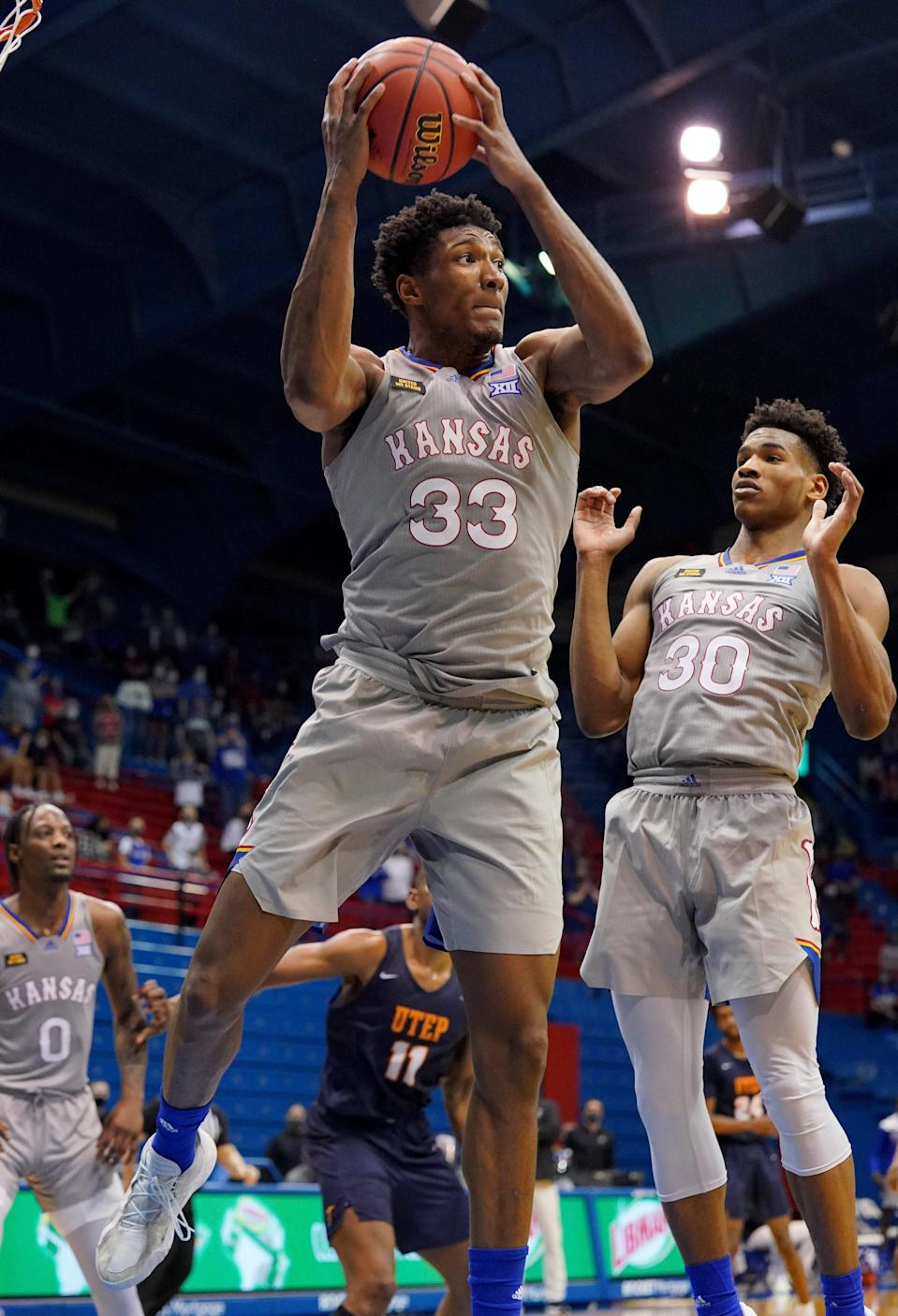 Kansas forward David McCormack has been cleared to return from COVID-19 quarantine and will play for the Jayhawks in their NCAA Tournament opener against Eastern Washington.