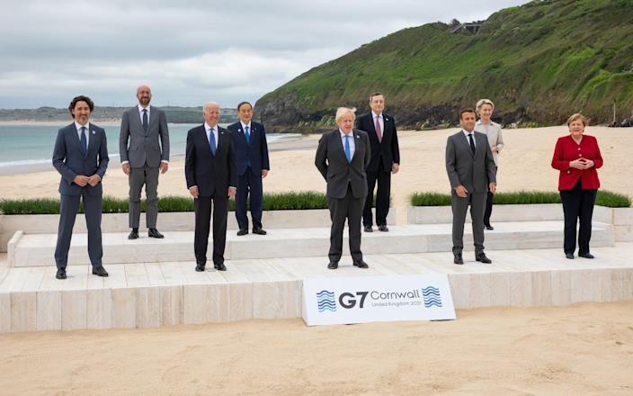Three-day summit includes Canada, France, Germany, Italy, Japan, the UK and the US - Getty