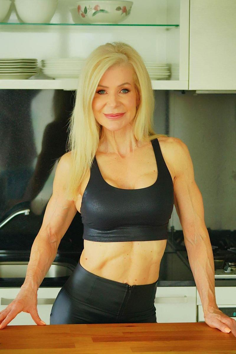 Personal trainer Lesley Maxwell